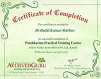 Panchakarma Therapist