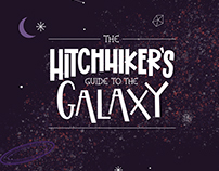 The hitchhiker's guide to the galaxy - Book Cover