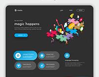 Makila - Generic WEB UI/UX Design