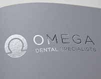 Omega Dental Specialists | Dentist Logo Design