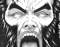 Wolverine's Nightmare (pencil samples)