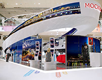 MOBIUS RING IN MOSCOW GOVERNMENT BOOTH CONCEPT