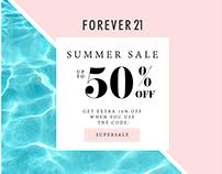 Forever 21 Summer Sale