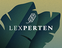 Lexperten, logo design
