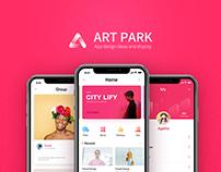 Aet park 2.0 UI(App design)