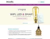 Sitio Web Inkandia