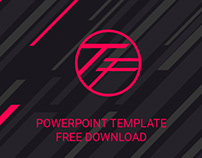 THE FIRST - FREE POWERPOINT TEMPLATE