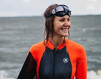 Freediver Johanna Nordblad, Finland
