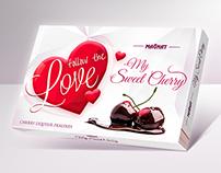 Walentine chocolate box for MAGNAT