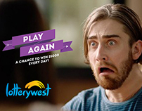 Lotterywest - Play Again TVC Campaign