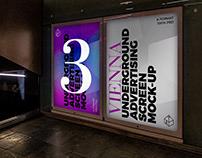 Vienna Underground Ad Screen Mock-Ups