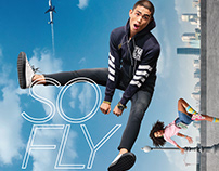 Flying Machine F-Lite 360 Denim - Campaign