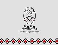 Visual Identity for Mama Cozonacilor - Bakery