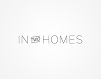 In Two Homes - Branding and Website