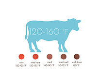 Cook Time & Temperature Infographic