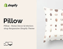 Pillow – Home Decor shop Responsive Shopify theme