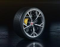 Jaguar F-Type R Wheel - CGI