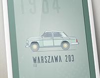 Warszawa 203 poster
