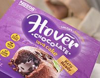 Keto ready chocolate lava cakes, packaging design