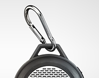 Mini speakers. CGi visualization
