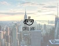 Coffe Geek Logo | Logo Template [FOR SALE]