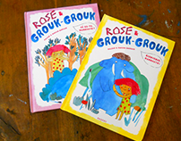 Rose et Grouk-Grouk