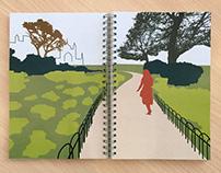 Journeyer's Guidebook iPhone App / Illustrated Book