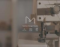 Lee M studio Logo Design