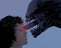 Entertainment Weekly - Alternate Endings: Alien