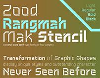 ZoodRangmahMak Font (ฟอนต์สุดแรงม้ามาก)