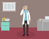 Bowel cancer screening Explainer video