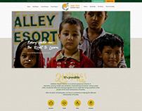 Web design for a non profit organization