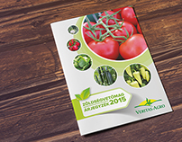 Veritas-Agro vegetable & fruit seed catalog design