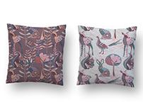 Sifcon International / Woodland Animals Surface Pattern