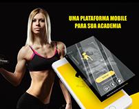 Plataforma Mobile para academias Lene Studio