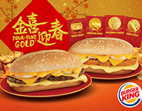 Burger King Four-tune Burger