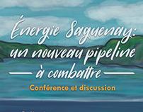 Energie Saguenay: Un nouveau pipeline à combattre