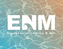 Erasmus National Meeting 2017: Identidade Visual