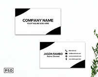 Free Minimal Business Card Template V7