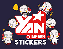 Yan News Stickers