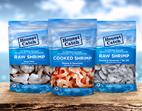 Honest Catch Shrimp Packaging