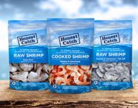 Honest Catch Shrimp Packaging
