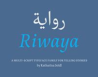 Riwaya typeface