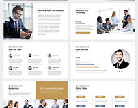 Lincoln Company Google Slides Template