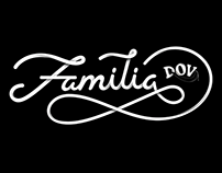 Lettering Familia DOV