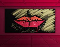 FREE PSD Art Poster Mockup  KilojoResource #5