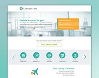 Simple Credit/Finance Website