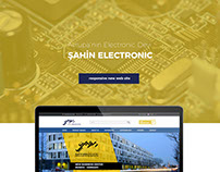 Şahin Electronic GmBH New Responsive Web Page