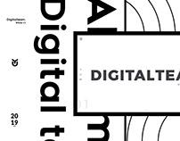 DigitalTeam Website - White
