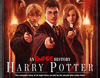Harry Potter Cover Illustration - EMPIRE Magazine